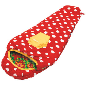 Outwell Bttrfly Girl Sleeping Bag red
